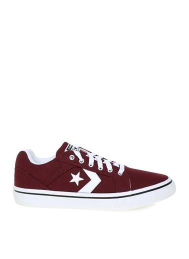 Converse Converse Beyaz - Bordo Lifestyle Ayakkabı Beyaz